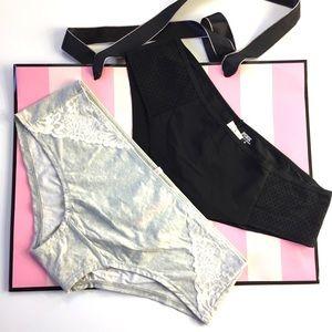 Pink by VS Set of 2 Panties M